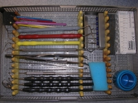 Tray für Wurzelkanalbehandlung