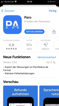 Screenshot Appstore